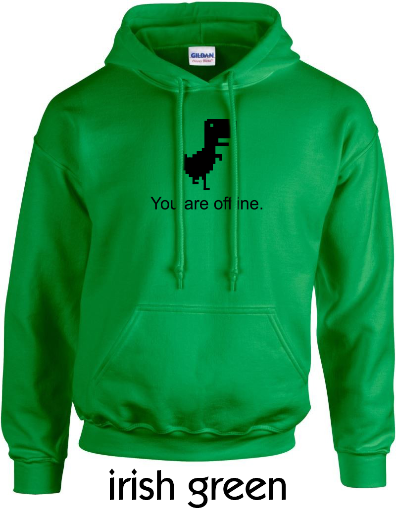 Kapuzensweater - Gildan-18500-dino-irish-green.png