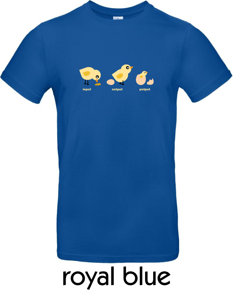 T-Shirts - BC-E190-Input-Output-Putput-royal-blue.png