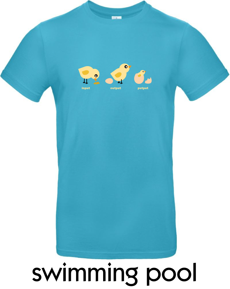 T-Shirts - BC-E190-Input-Output-Putput-swimming-pool.png