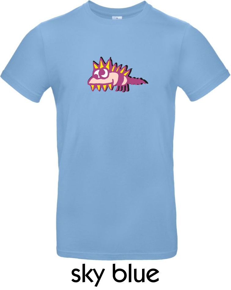T-Shirts - BC-E190-Monster-sky-blue.png