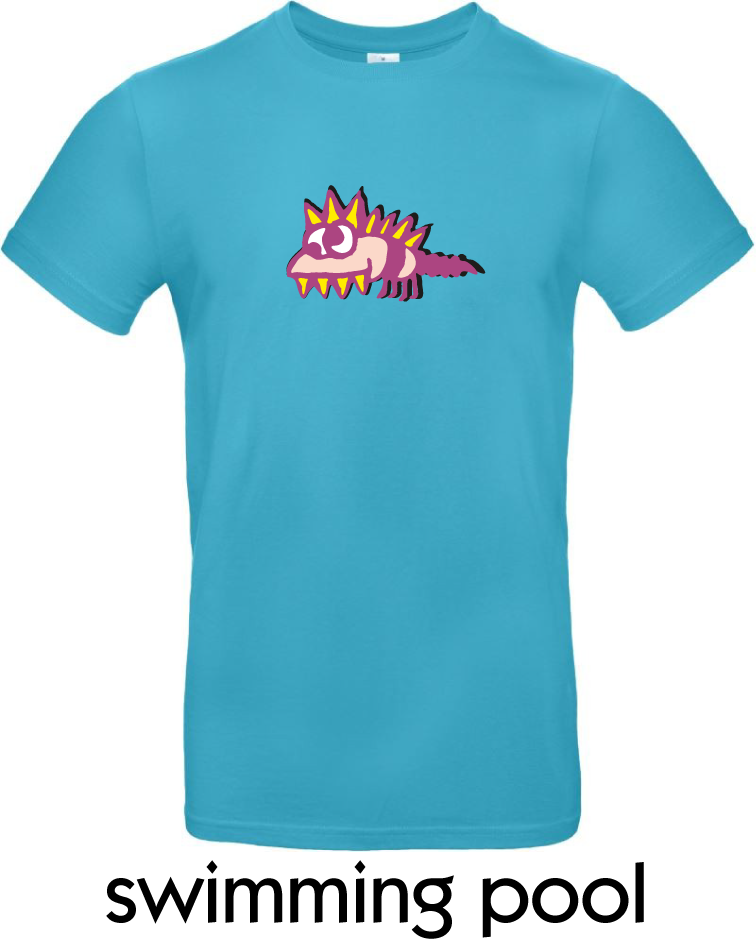 T-Shirts - BC-E190-Monster-swimming-pool.png