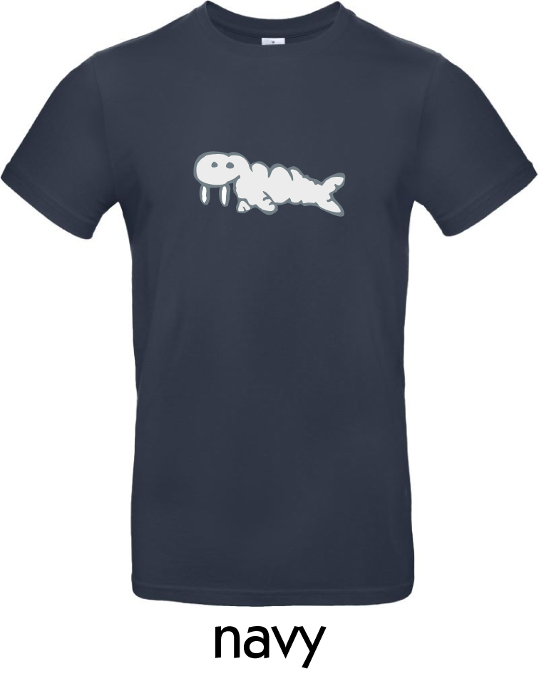 T-Shirts - BC-E190-Walross-navy.png
